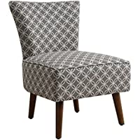 Pearington Bernadette Traditional Versatile Accent Chair, Grey