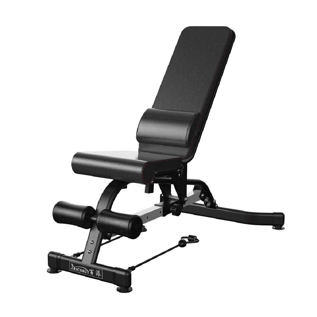 Banco de pesas plegable Banco de press de banca banco de pesas de múltiples funciones pequeño pájaro silla de ejercicios abdominales musculares Bancos ...