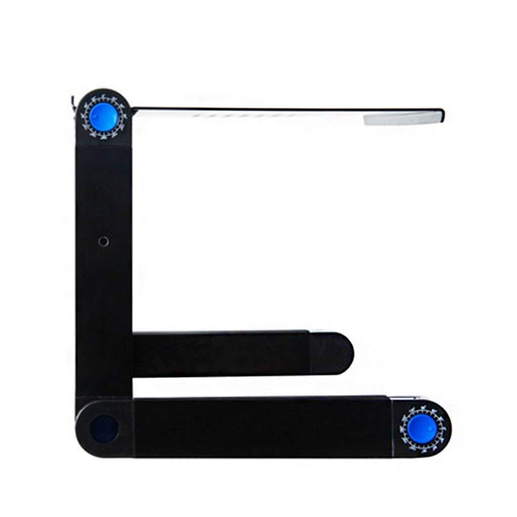 YCT ラップトップラップトップテーブル折りたたみアルミニウム胸怠惰なデスクトップパレット棚 B07SQLSVSQ