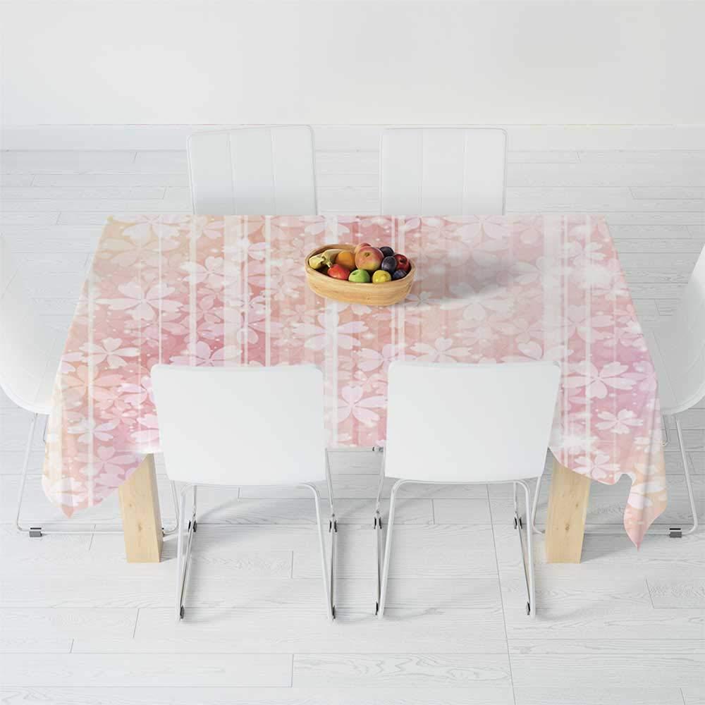 Rococo - Mantel Impermeable, Color Rosa Claro, para Mesa de ...