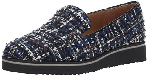 Franco Sarto Women's Fabrina Loafer Flat Blue 400