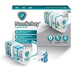 NeedleBay 4 Diabetes Medication System, 7.6 Ounce