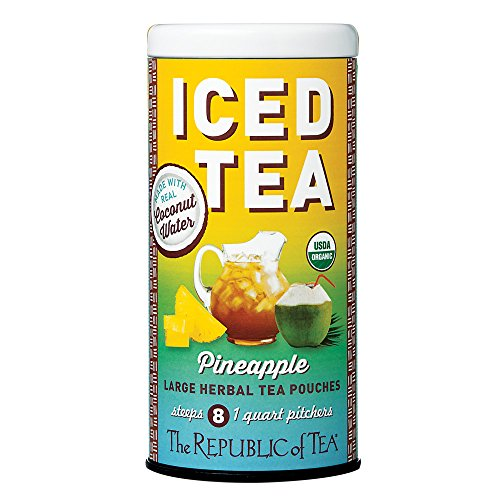 Republic Of Tea, Tea Iced Coconut Pineapple Pouch, 8 Count