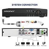 4CH 1080P AHD DVR for SMONET AHD Security Camera System