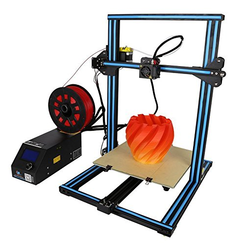 Creality 3D Printer CR-10S with Dual Z Axis Leading Screws Filament Detector (Blue) ()