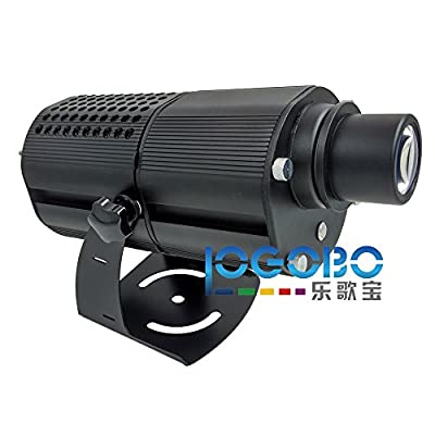 Exterior 80W Led Logo Projector Lamp Bussiness Signs or Festival Decoration Lighting Waterproof Black