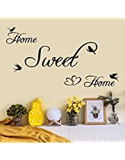 Topgrowth Adesivi Murali Removibile Decalcomanie Murali Wall Sticker Frasi Adesive Murali Home Sweet Home