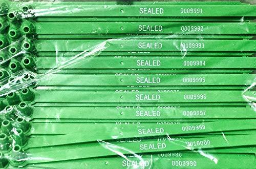 (Duebass Green Tite-Lock Plastic Truck Door Seal (Package of 100))