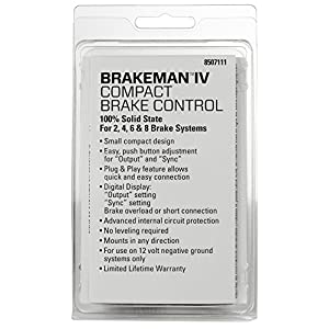 Reese Towpower 8507111 Brakeman IV Digital Brake Control, Small Compact Design