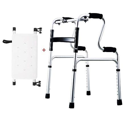 LHNLY-Andadores Estándares Andador Plegable Asiento de ...