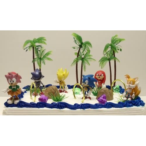 free shipping unique 12 classic sonic the hedgehog cake