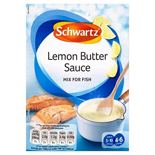 Schwartz Salsa De Mantequilla De Limón 38G De Salmón