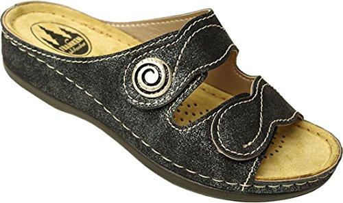 Mules Femme Mules Noir Schuhe Franken Noir Femme Mules Femme Franken Franken Noir Schuhe Schuhe wxPXTnHYq
