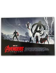 "AVENGERS ENDGAME 11""x15.5"" Original Promo Movie Poster IMAX AMC Week 2 Marvel Iron Man Captain American Thor Hulk"