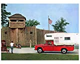 1966 Dodge Travco Camper Pickup TEC Campmate Factory Photo
