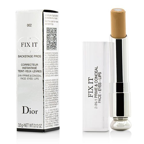 CHRISTIAN DIOR by Christian Dior Fix It Backstage Pros Concealer - #002 Medium --3.5g/0.12oz for WOMEN ---(Package Of 2)