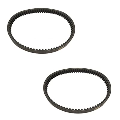 (2) TORQUE CONVERTER BELT for Comet 203590, 203590A, 203590B, 30 Series Go Kart by The ROP Shop: Automotive