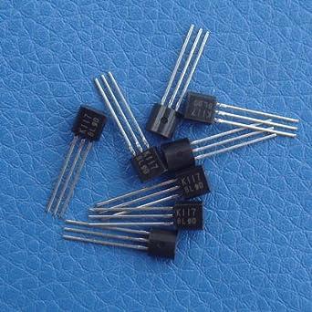 ELECTRONICS-SALON 20pcs 2sk117-bl Original bajo nivel de ruido amplificador de audio j-fet: Amazon.es: Iluminación