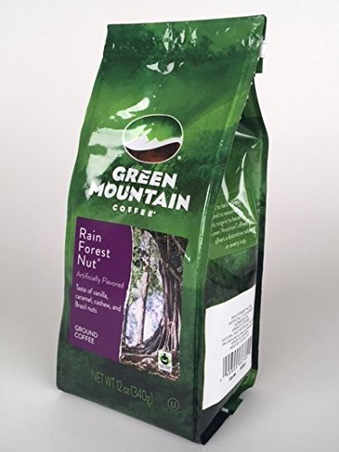 Green Mountain Coffee Lavish Forest Nut Ground, 12 oz Bag