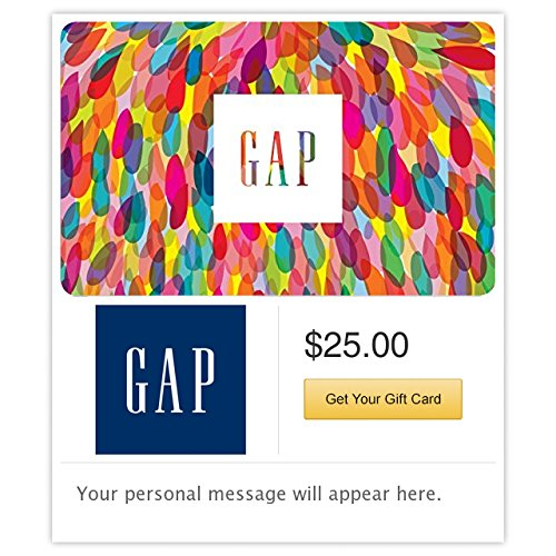 Gap Gift Cards - E-mail Delivery from GAP