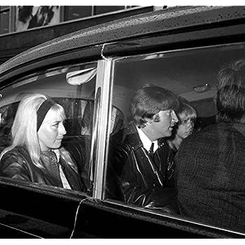 "Cynthia Lennon Phillip Spector 14 x 11/"" Photo Print The Beatles John"