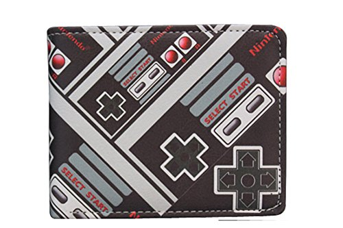 Nintendo NES Classic Controller Character Bifold Wallet (One Size, Nintendo02)]()