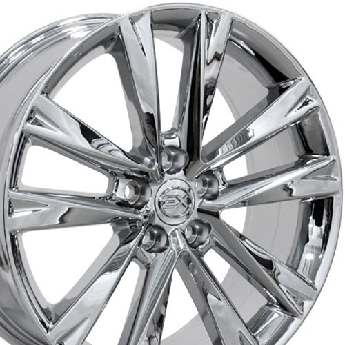 19x7.5 Wheel Fits Lexus, Toyota - RX 350 F Sport Style Chrome Rim, Hollander 74279 - ()