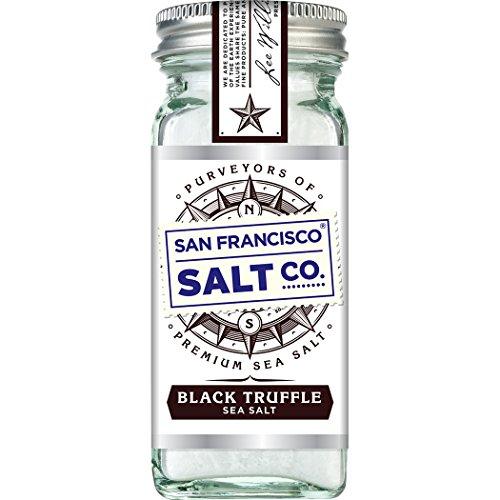 4oz Glass Shaker - Black Truffle Salt