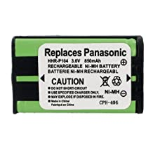 Panasonic HHR-P104 Cordless Phone Battery 3.6 Volt, Ni-MH 850mAh - Replacement For PANASONIC HHR-P104