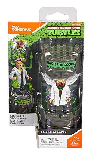 Mega Construx Teenage Mutant Ninja Turtles Classic Series Dr. Baxter Stockman Mutagen Canister