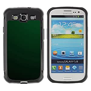 "Hypernova Defender Series TPU protection Cas Case Coque pour Samsung Galaxy S3 III I9300 [Simple Green""]"