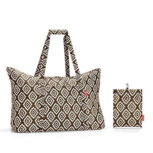 30 Mocha cm Reisenthel Tote Bag Maxi Diamonds Brown Mini Canvas Diamonds 65 Beach Brown amp; Mocha travelbag liters wnx6wvUqF