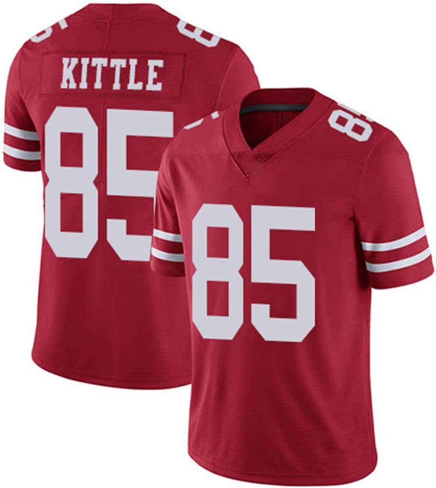 VF LSG San Francisco 49ers #85 George Kittle Red Limited Game Jersey for Men Women Youth