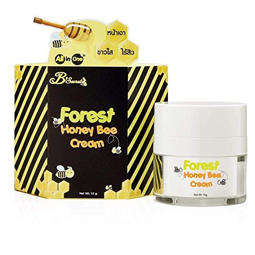 forest-honey-bee-cream-15-g-reduce-scar-acne-freckles-dark-spots-radiant