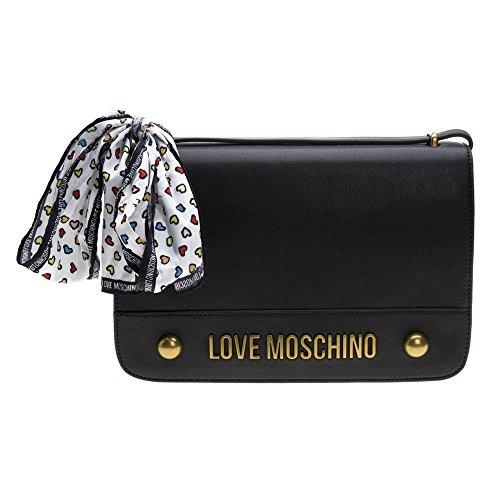 Love Moschino Cross Body Womens Handbag Black by Moschino Love Moschino (Image #4)'