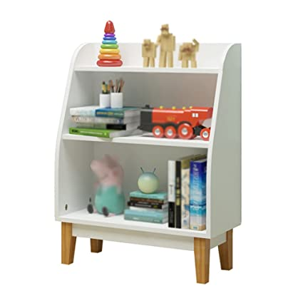 Book Shelf Case Child Toy Storage Rack Baby Bookshelf Kindergarten Bookcase Household Picture Frame Corner