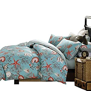 51Ozp-N--zL._SS300_ 100+ Best Seashell Bedding and Comforter Sets 2020