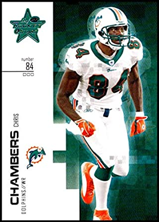2007 Leaf Rookies and Stars  57 Chris Chambers NM-MT Miami Dolphins  Official NFL 084e2ed3b