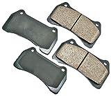 Akebono EUR938 EURO Ultra-Premium Ceramic Brake Pad Set