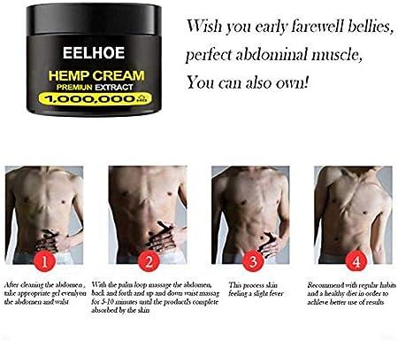 BRAND NEWS Crema Reductora De Grasa Crema Adelgazante Eficaz para Los Músculos Abdominales para Hombres Y Mujeres para Quemar La Grasa del Vientre