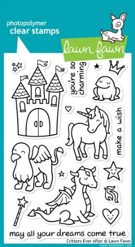 Critters Ever After Clear Stamp Set (Lawn Fawn) LF382 126011