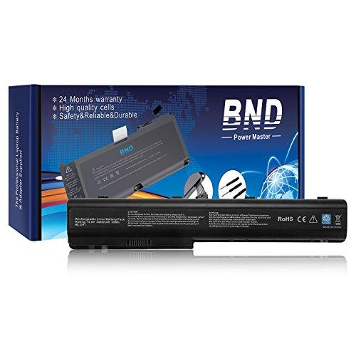 Hewlett Packard Hp Part - BND Laptop Battery for HP Pavilion DV7-3165DX DV7-1232NR DV7-1245DX DV7-1243CL DV7-3085DX DV7-3065DX, fits GA08 KS525AA HSTNN-IB75 HSTNN-DB75 480385-001- 12 Months Warranty [4400mAh 8-Cell]