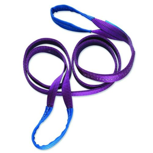 Braun 10032HB Lifting Strap 1000 kg Load 3 m in Length with Re-enforced End-Loops Purple Braun GmbH