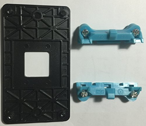 Base Stock - AMD CPU Fan Bracket Base for AM2 AM2+ AM3 AM3+ FM1 socket (3pcs Version for newer motherboard)