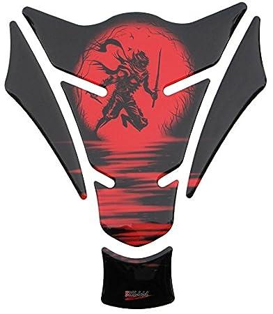 R1200GS 3d 500960 Ninja Red - Protector de depósito de Universal apto para motocicleta de depósitos: Amazon.es: Coche y moto