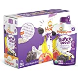 Happy Tot Organic Stage 4 Super Foods Bananas Peaches Prunes & Coconut + Super Chia 4.22 Ounce, Non-GMO, Gluten Free, 3g of Fiber, Excellent source of vitamins A & C (Pack of 16)
