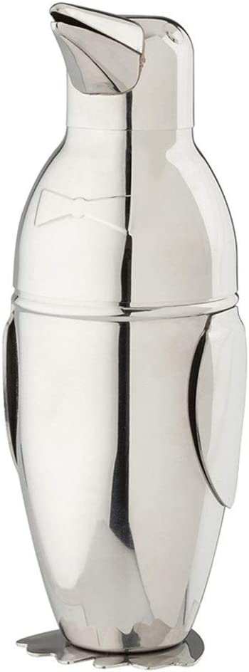 NLJYSH Cocktail Shakers 500ml Penguin Stainless Steel Cocktail Boston Bar Shaker Bar Tool Accessory durable
