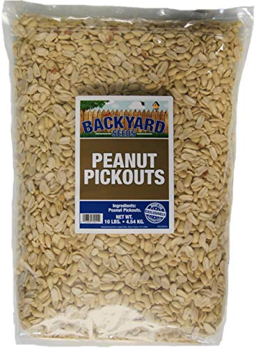 Backyard Seeds Shelled Peanut Pickouts (10 Pounds)