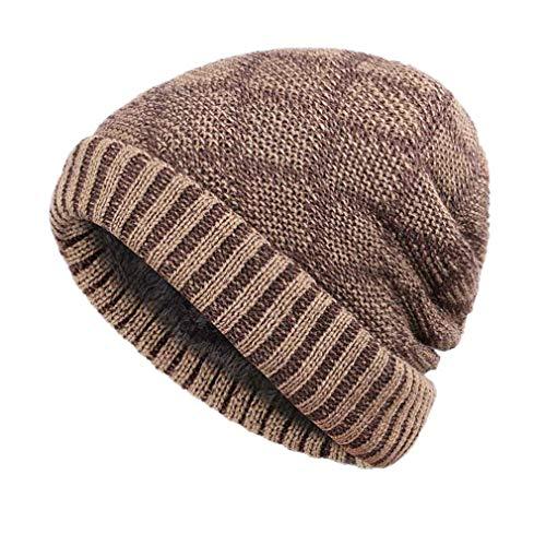 Winter Bone Men's Winter Hat Knitted Wool Beanies Men Hip-Hop Cap Caps Skullies Hats Women Gorros Khaki B