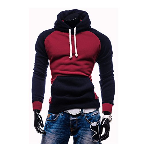 Rouquyanq Men Hoody Sweatshirts Hip Hop Fashion Slim Hoodies Men Hooded Cloak Sudaderas Hombre Casual Hoodie Sweatshirts at Amazon Mens Clothing store: